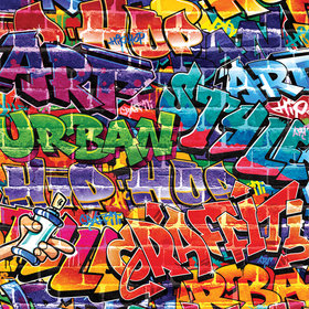 Walltastic Graffiti 43855