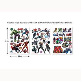 Marvel Avengers Wall Stickers 44760