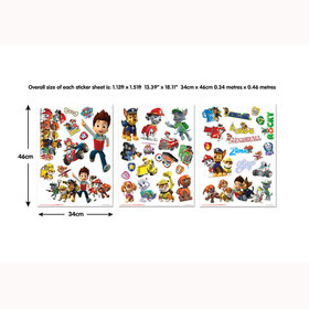 Paw Patrol Wall Stickers 44685