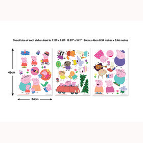 Peppa Pig Wall Stickers 44784