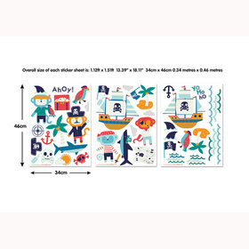 Pirate Wall Stickers 45002