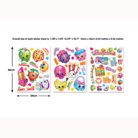 Shopkins Wall Stickers 44807