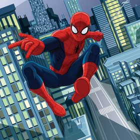 Ultimate Spiderman Mural 43824