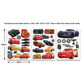 Walltastic Disney Cars Wall Stickers 45576