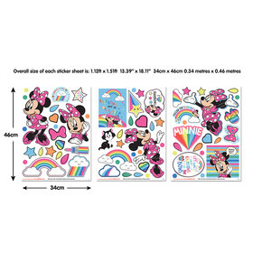 Walltastic Disney Minnie Mouse Wall Stickers 45538