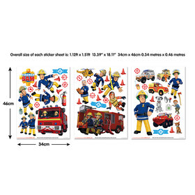 Walltastic Fireman Sam Wall Stickers 45835