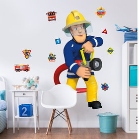 Walltastic Fireman Sam Large Character Sticker 44333