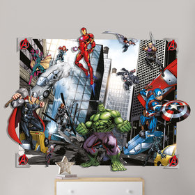 Walltastic Marvel Avengers 3D Pop Out Wall Decoration 44562