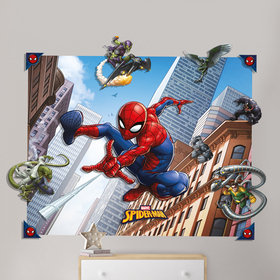Walltastic Marvel Spiderman 3D Pop Out Wall Decoration 44586