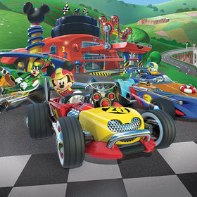 Walltastic Disney Mickey Mouse Roadster Racers 45293