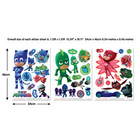Walltastic PJ Masks Wall Stickers 45231