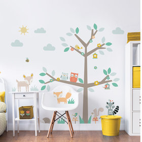 Walltastic Woodland Tree & Friends Large Character Sticker 44647