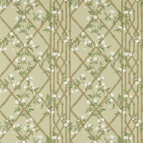 Zoffany Jasmine Lattice Old Gold 311329