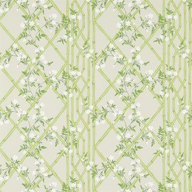 Zoffany Jasmine Lattice Spring Leaf 311330