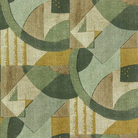 Zoffany Abstract 1928 Antique Olivine 312887