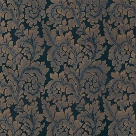 Zoffany Acantha Silk Prussian Blue 332879