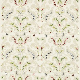 Zoffany Brocatello Embroidery Ecru-Multi 331217