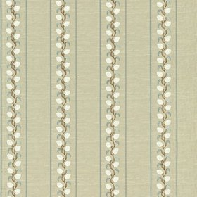 Zoffany Broidery Trail Linen-Blue ZPER02002