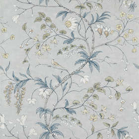 Zoffany Chambalon Trail Mercury-Platinum Grey 312851