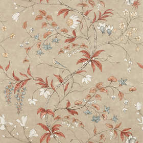 Zoffany Chambalon Trail Sunstone-Linen 312852