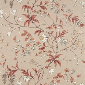 Zoffany Chambalon Trail Sunstone-Linen 322653