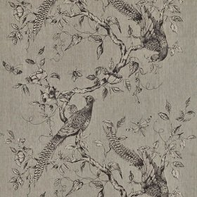 Zoffany Darnley Toile Empire Grey 322656