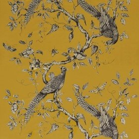 Zoffany Darnley Toile Velvet Tigers Eye 322657