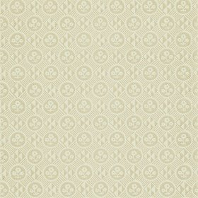 Zoffany Diamonds & Flowers Linen 310855