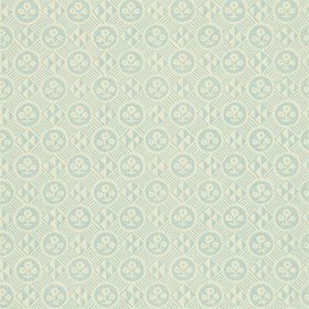 Zoffany Diamonds & Flowers Sky 310856