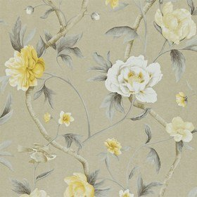 Zoffany Flowering Tree Silver-Yellow ZTRA05006