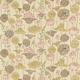 Zoffany Lotus Flower Gold-Red ZTOW320815