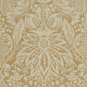 Zoffany Mitford Damask Antique Gold 312862
