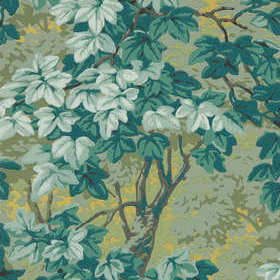 Zoffany Richmond Park Evergreen 312857
