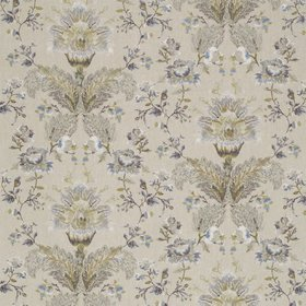 Zoffany Stitch Damask Mineral 331214