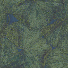 Zoffany Taisho Lotus Malachite-Lapis Panel A 312725