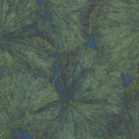 Zoffany Taisho Lotus Malachite-Lapis Panel B 312726