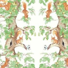 Ailanto Woodland Squirrels Woodland Wonder SQU002W