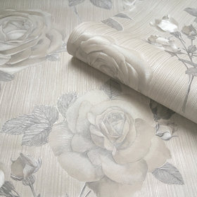 Belgravia Decor Amara Rose Silver GB7365