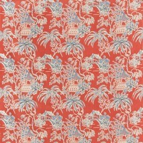 Brunschwig & Fils Tongli Print Red 8019138-195