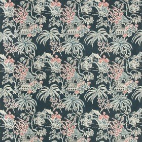 Brunschwig & Fils Tongli Print Midnight 8019138-557