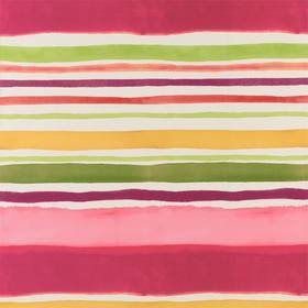 Kim Parker For Clarke & Clarke Sunrise Stripe Multi W0076-02