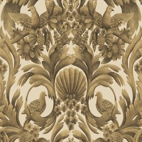Cole & Son Gibbons Carving Metallic Gold-Sand 118-9019