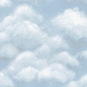 Cole & Son Fresco Sky Sky Blue 118-6010
