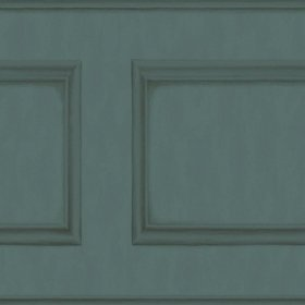 Cole & Son Library Frieze Dark Viridian 118-14032