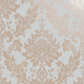 Holden Decor For Colemans Clara Rose Gold-Grey 35970