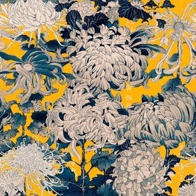 MINDTHEGAP Chrysanthemums Yellow WP20321