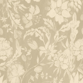 MINDTHEGAP Flowery Ornament Taupe WP30036