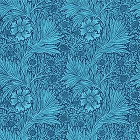 Ben Pentreath For Morris & Co Marigold Navy-Turquoise 216954