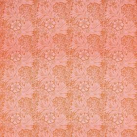 Ben Pentreath For Morris & Co Marigold Orange-Pink 226844