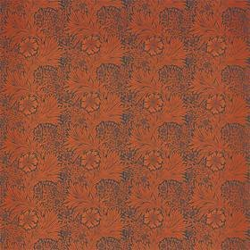Ben Pentreath For Morris & Co Marigold Navy-Burnt Orange 226845